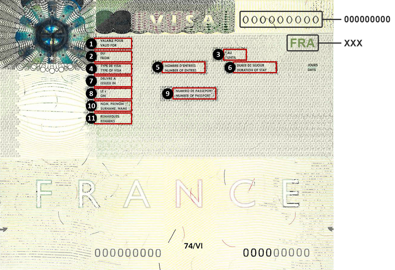 How to get a visa to France